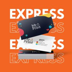 Express Laminate Namecards