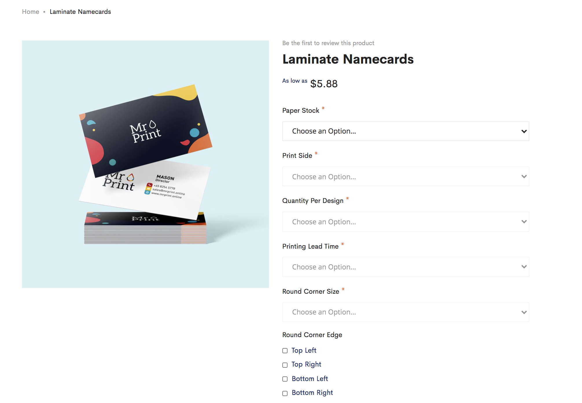 How to Order your Namecards